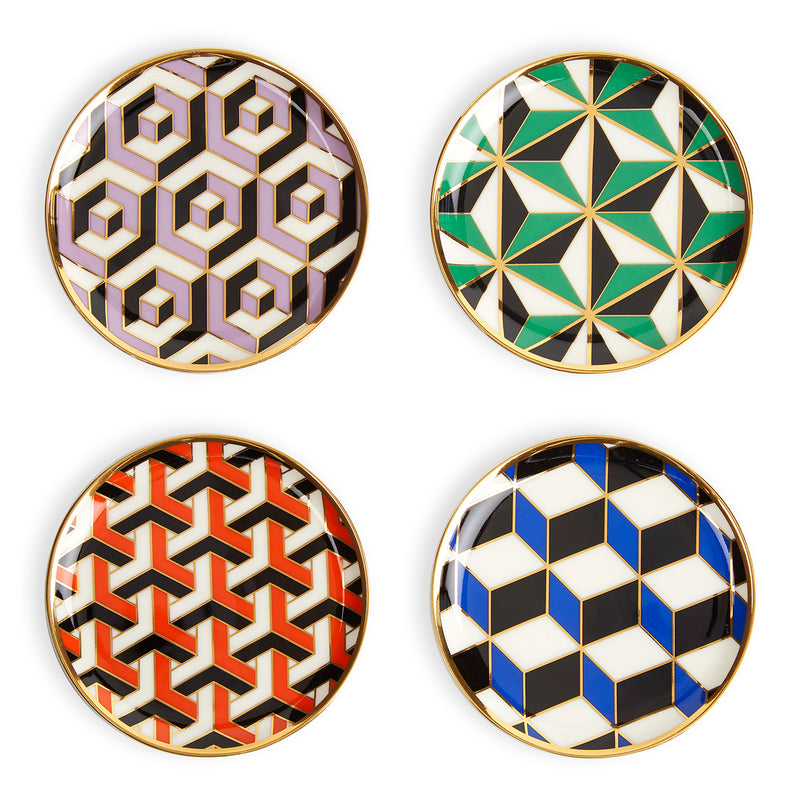Jonathan Adler Versailles Coaster Set of 4