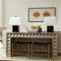 Jonathan Adler Talitha Waterfall Console Table