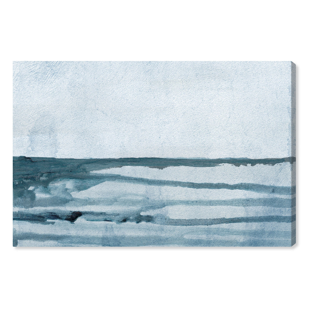 Oliver Gal Washed Waves Canvas Wall Art