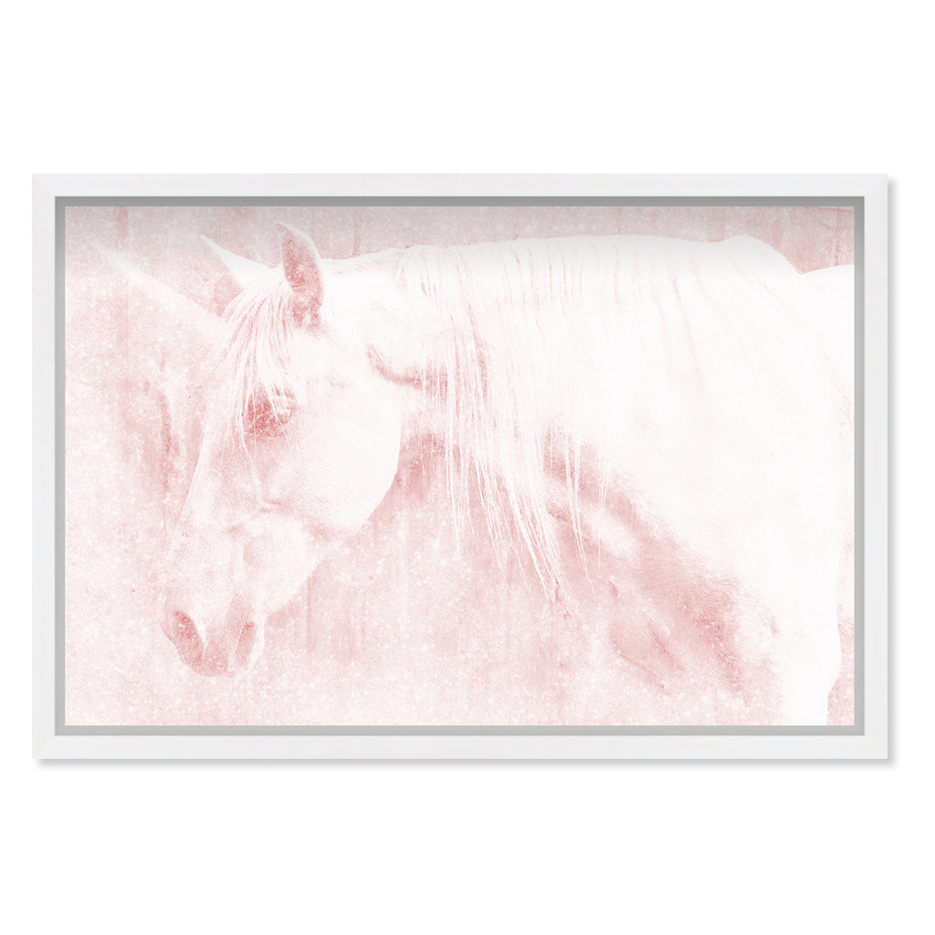 Oliver Gal Unicorn Rose Framed Wall Art