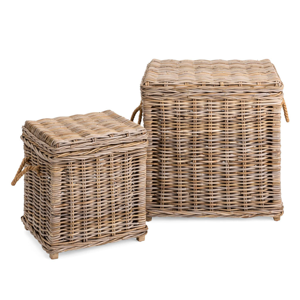 Halford Rattan Basket Set of 2