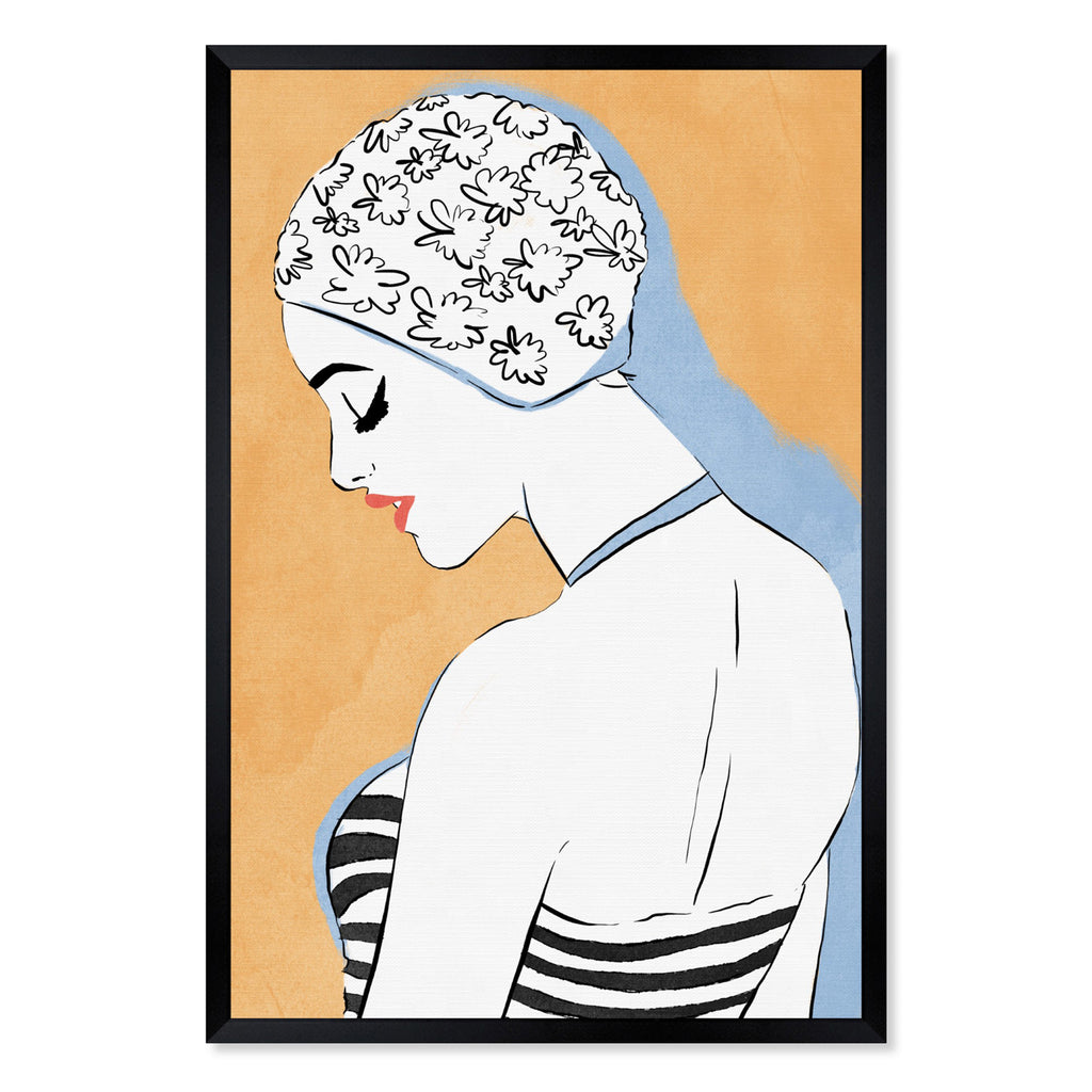 Oliver Gal The Femme Swimmer Framed Wall Art