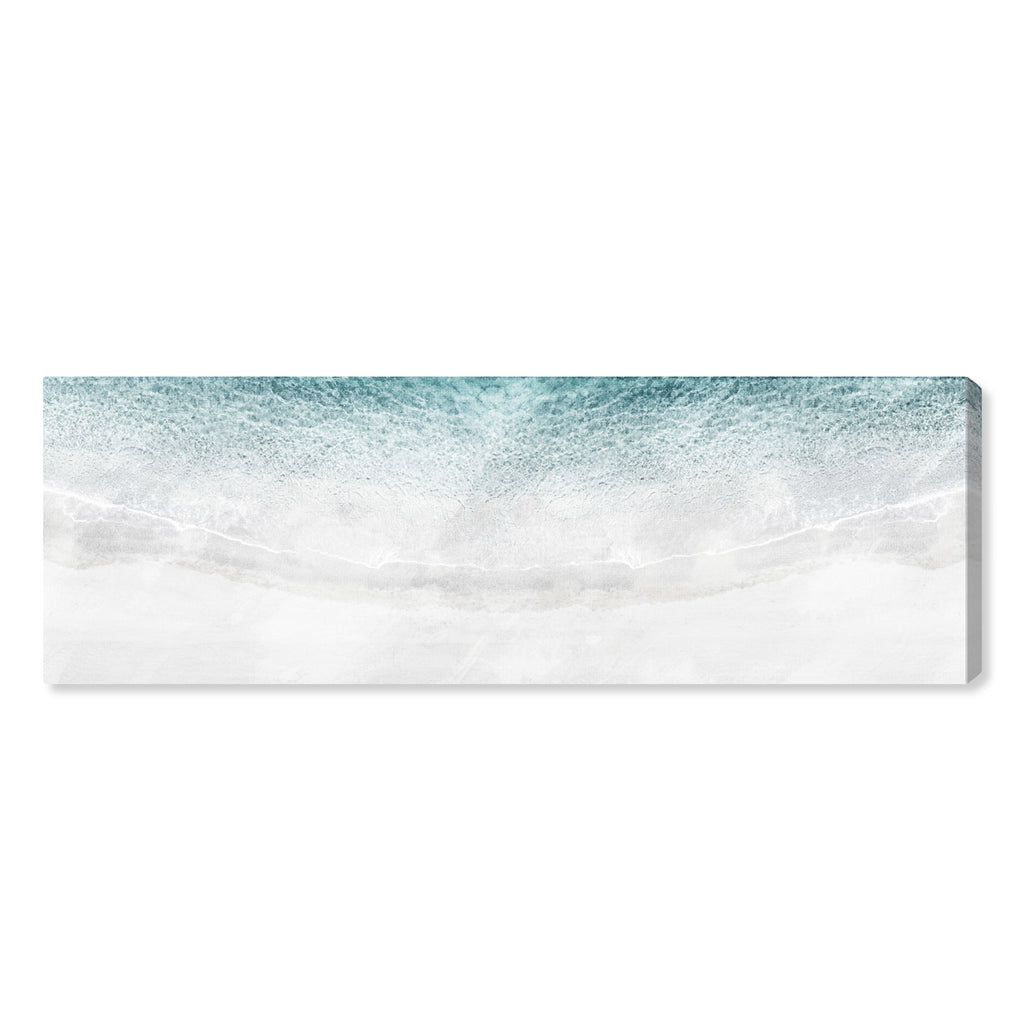 Oliver Gal White Sand Beach Canvas Wall Art