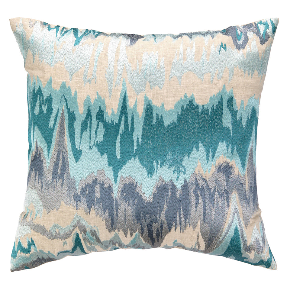 Stereo Embroidered Throw Pillow