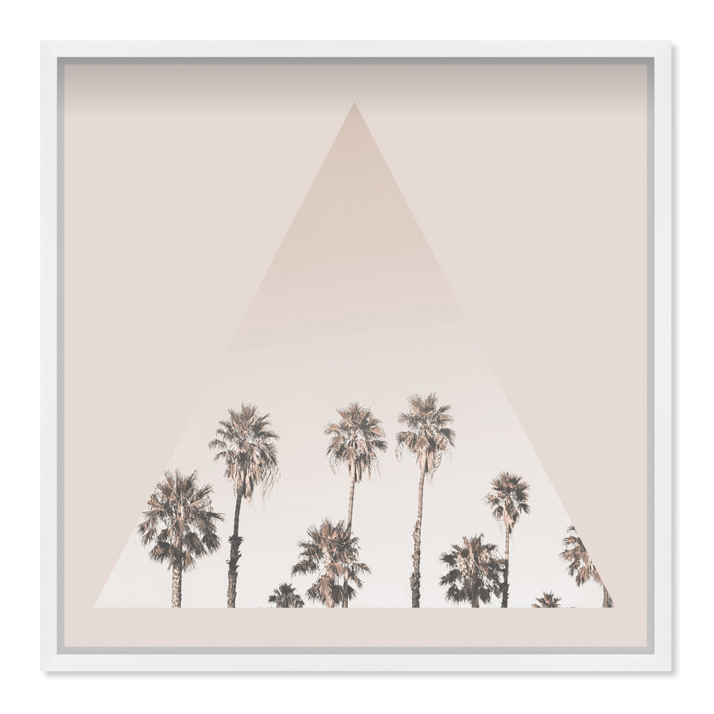 Oliver Gal Palms Framed Wall Art