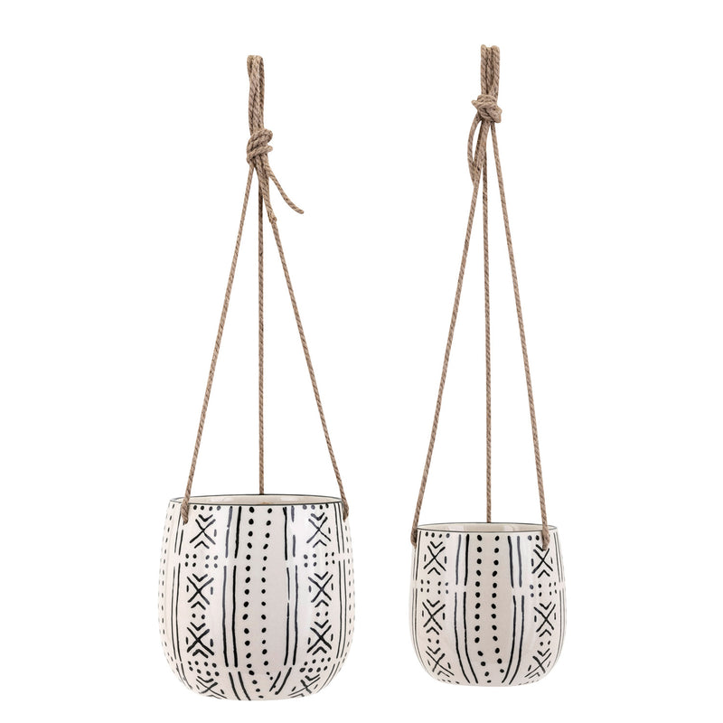 Lazlo Hanging Planter Set of 2
