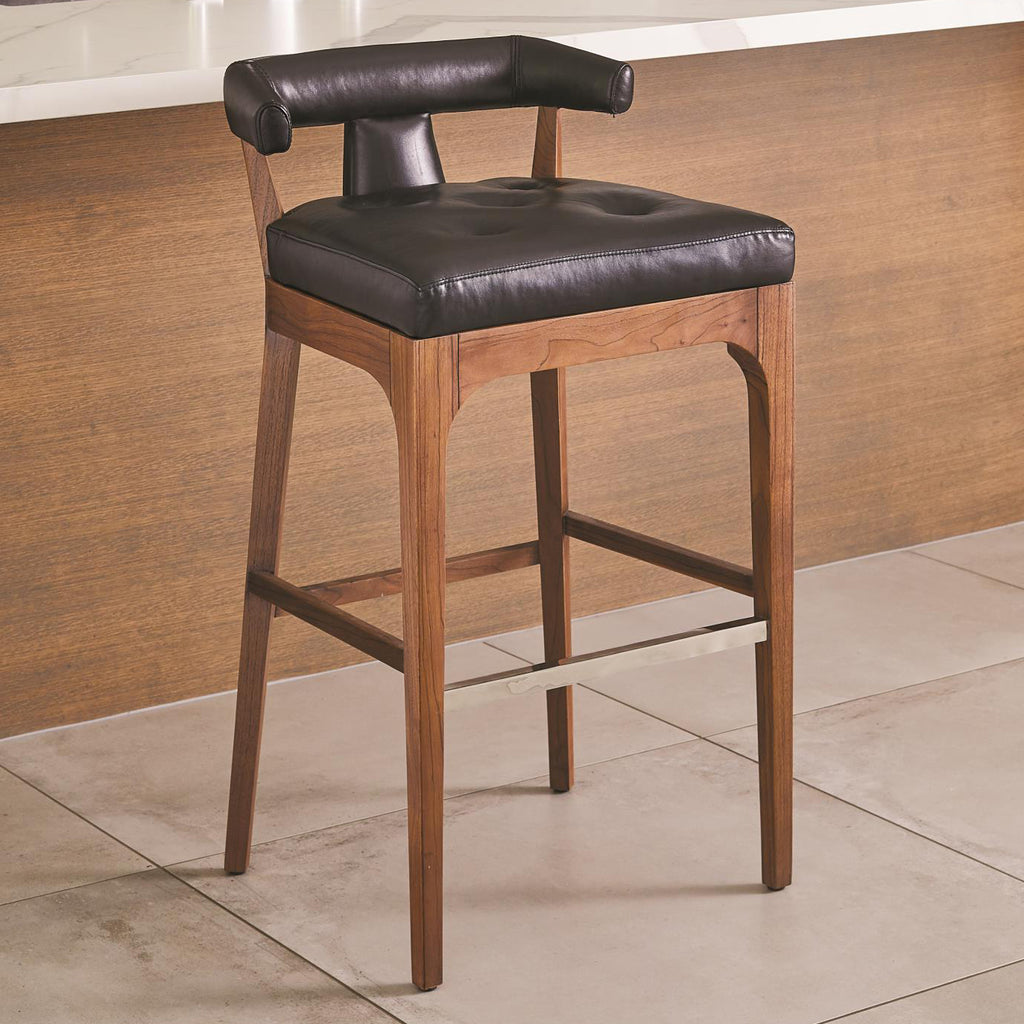 Global Views Moderno Bar Stool