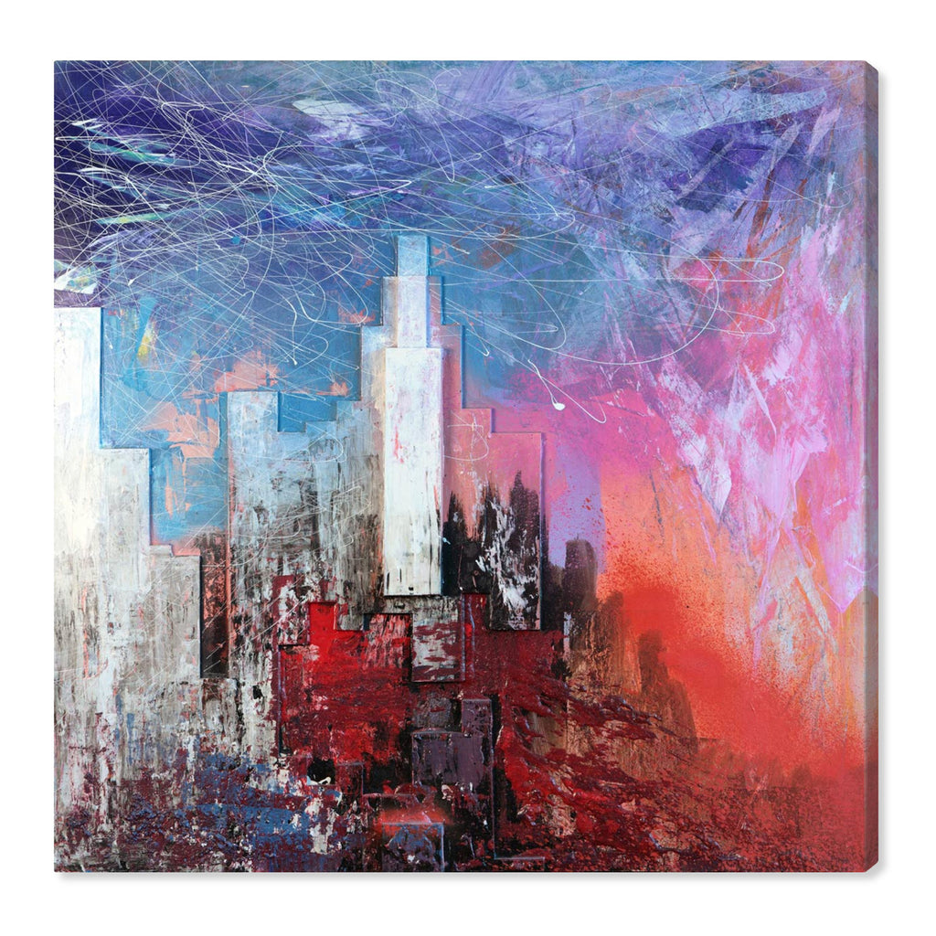 Oliver Gal Sai Urban Vissage Canvas Wall Art