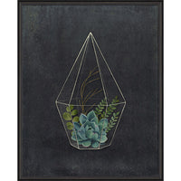 Active and Happy Framed Print