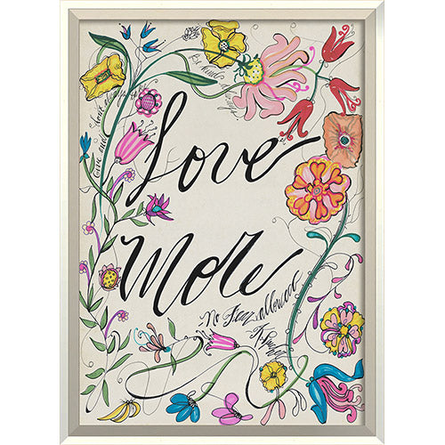 Love More Framed Print