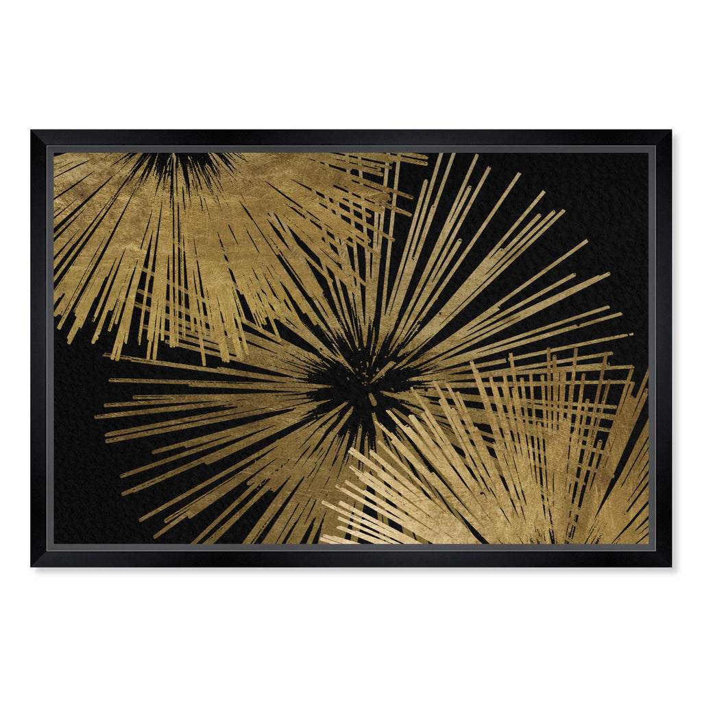 Oliver Gal Sunburst Glam Luxe Framed Wall Art