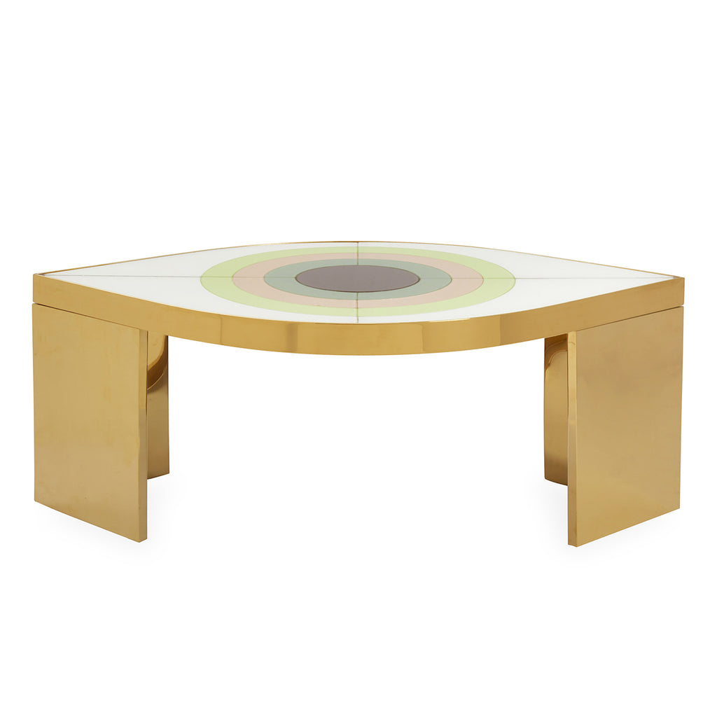 Jonathan Adler Harlequin Eye Cocktail Table