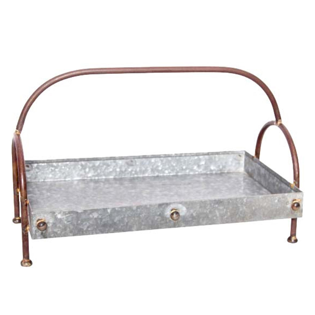 Carter Galvanized Tiered Tray