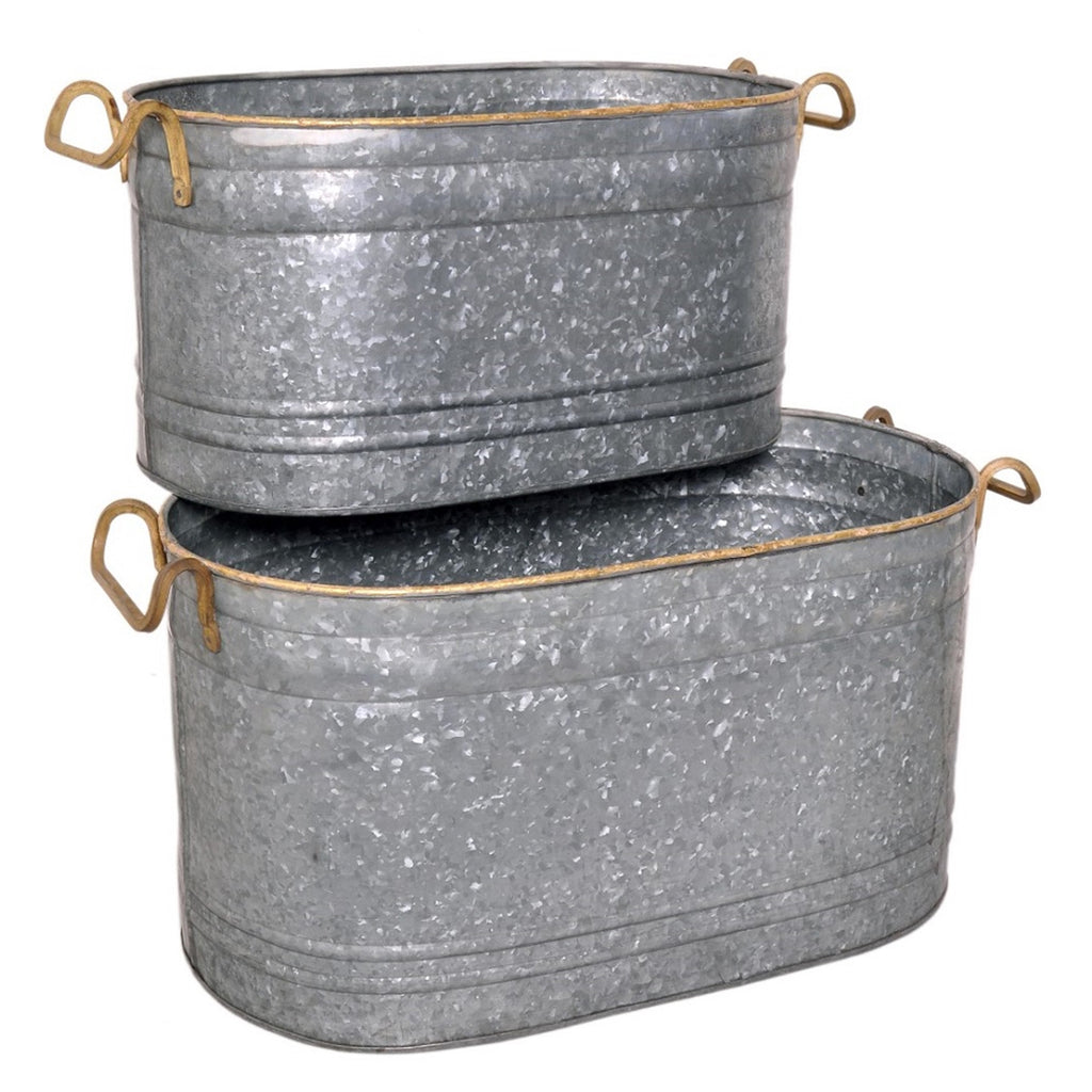 Peterson Galvanized Tub of 2