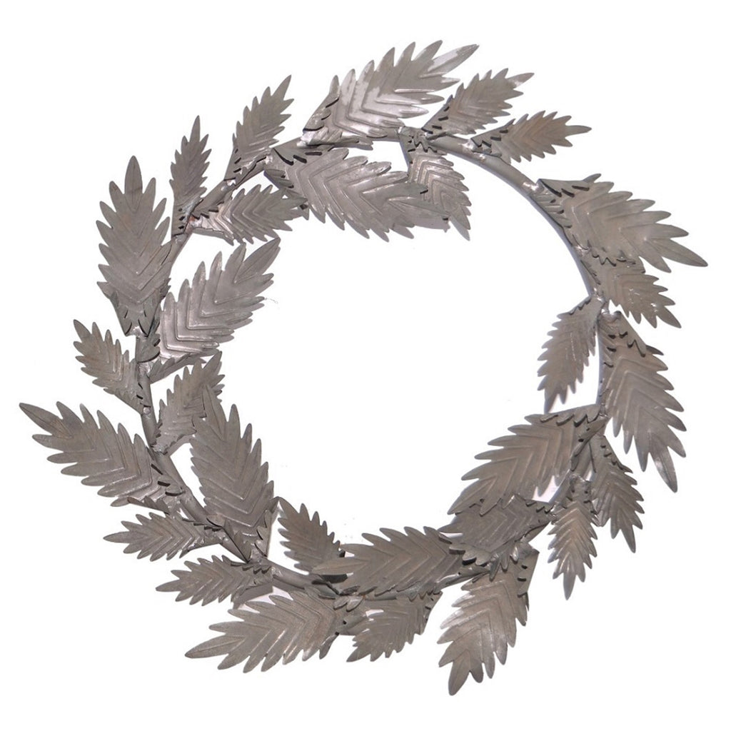 Barrow Zinc Wall Wreath