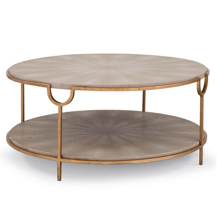 Regina Andrew Vogue Shagreen Cocktail Table