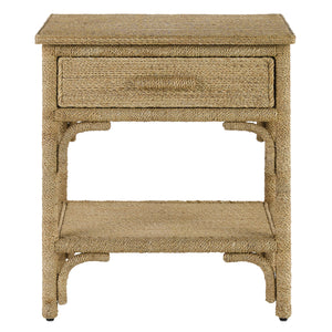 Currey & Co Olisa Nightstand