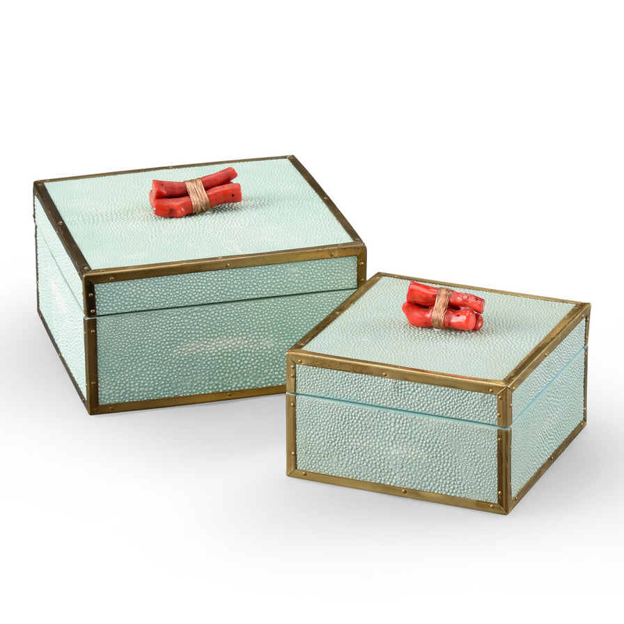 Wildwood Coral Box Set of 2