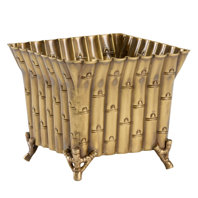 Wildwood Square Bamboo Planter