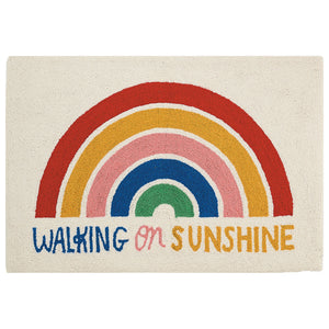 Ampersand Walking On Sunshine Hook Rug