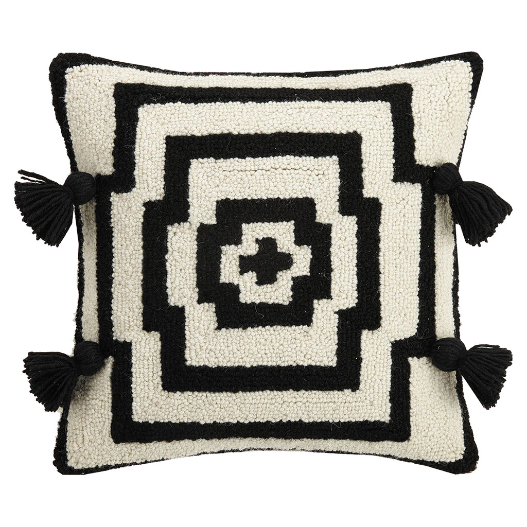 Justina Blakeney Hypnotic Tassel Hook Throw Pillow