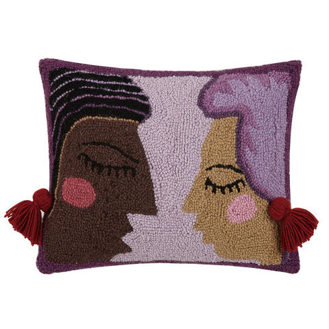 Justina Blakeney Duet Hook Throw Pillow