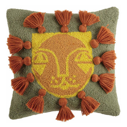 Justina Blakeney Leo Hook Throw Pillow