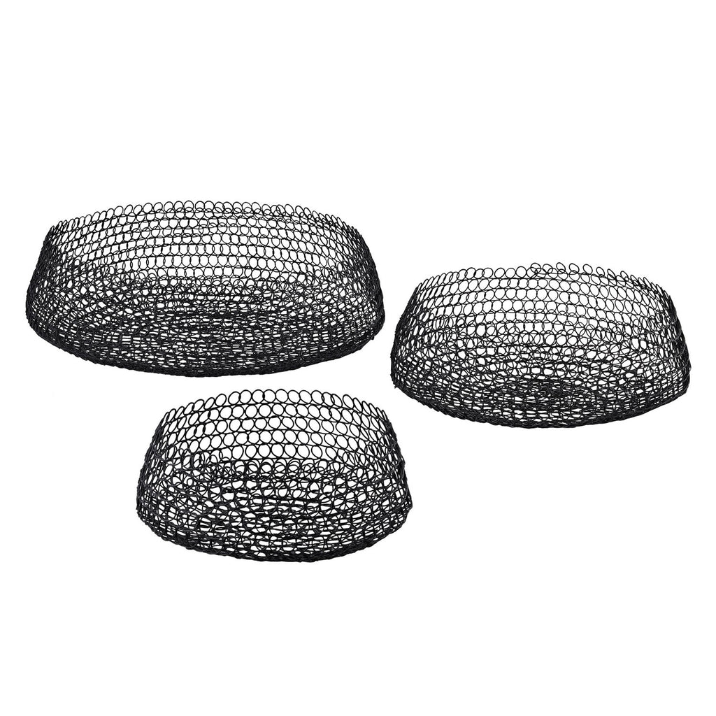 Saunders Welded Ring Bowl Set of 3