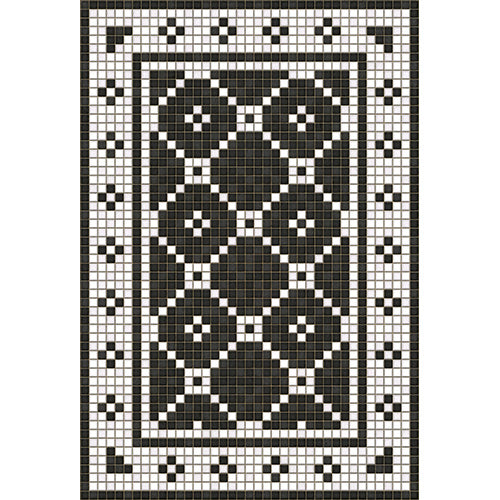 Elmhurst Avenue Vinyl Floorcloth