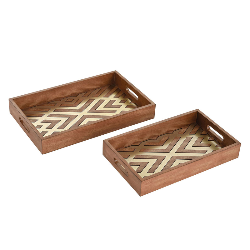 Bedelia Tray Set of 2