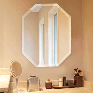 Cresent Octagon Wall Mirror
