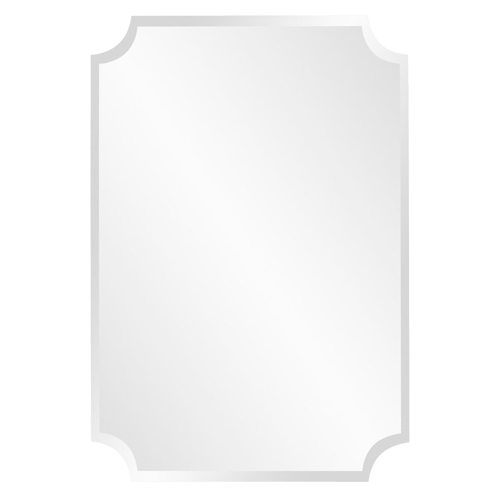 Cresent Scallop Wall Mirror