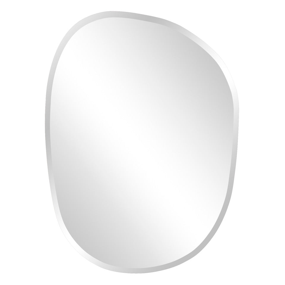 Cresent Asymmetrical Wall Mirror