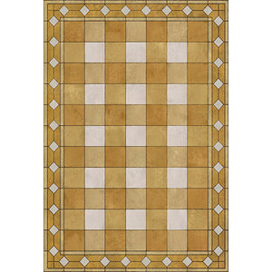 Salome Vinyl Floorcloth