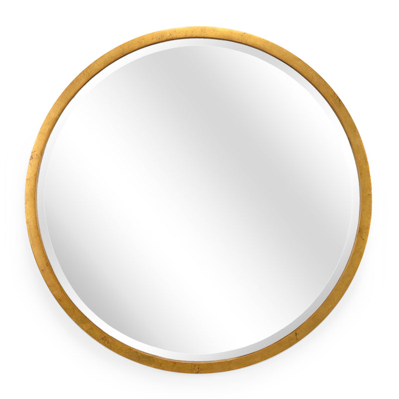 Chelsea House Round Gold Wall Mirror