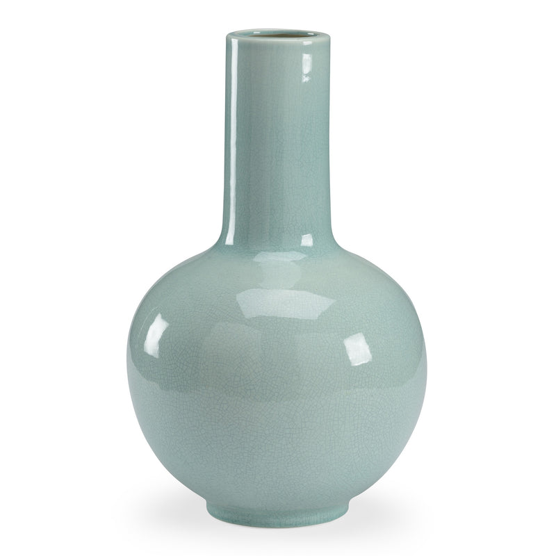 Chelsea House Wicker Celadon Vase