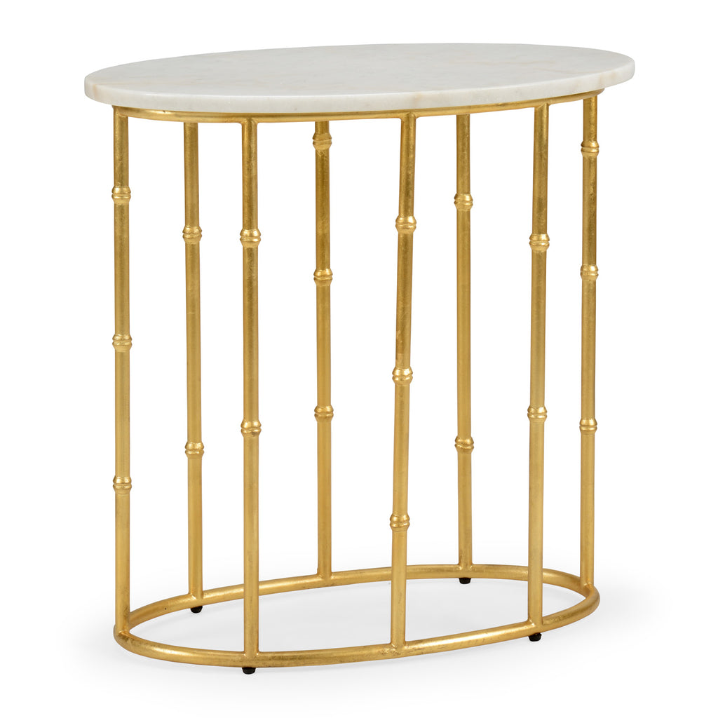 Chelsea House Mallow Bamboo Side Table