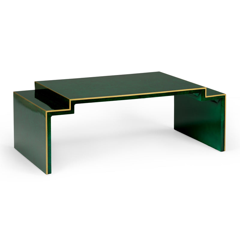 Chelsea House Chatsworth Coffee Table with Gold