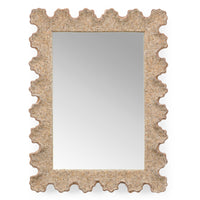 Chelsea House Scalloped Shell Wall Mirror