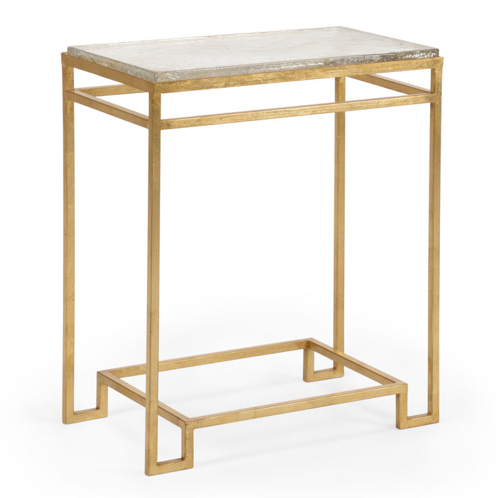 Chelsea House Seed Glass Side Table
