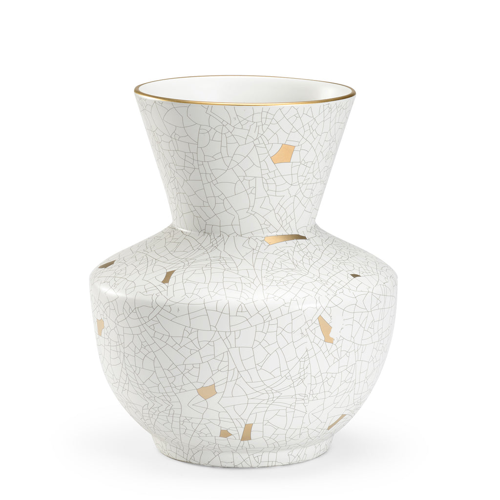 Chelsea House Crackled Vase