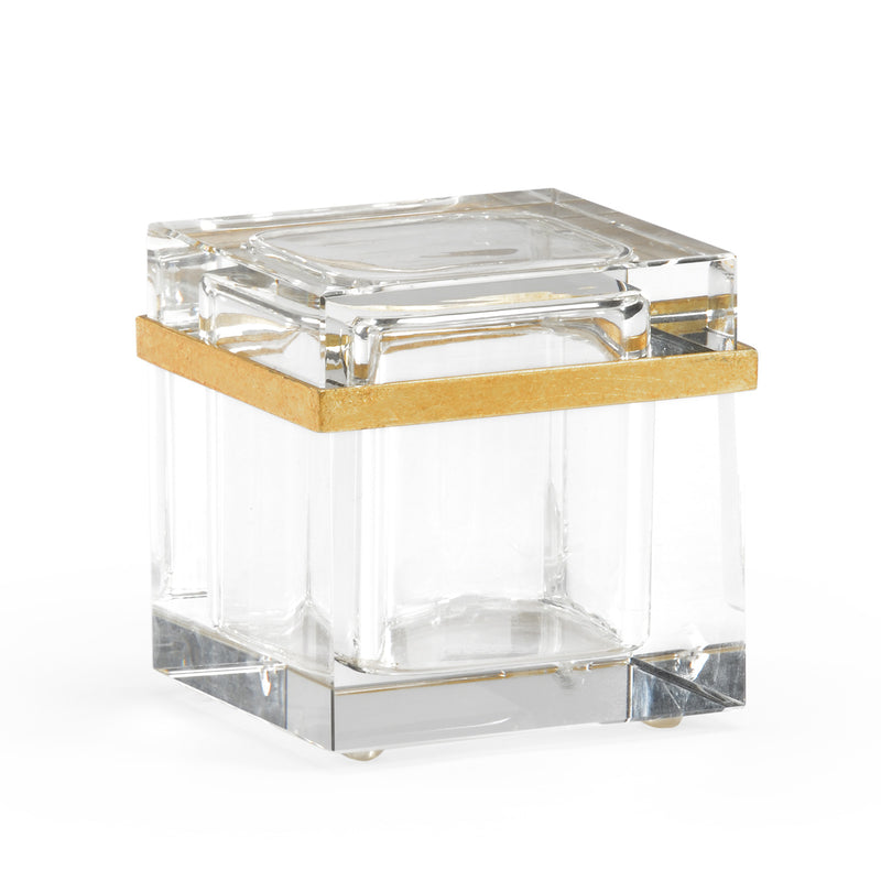Chelsea House Crystal Square Jewelry Box
