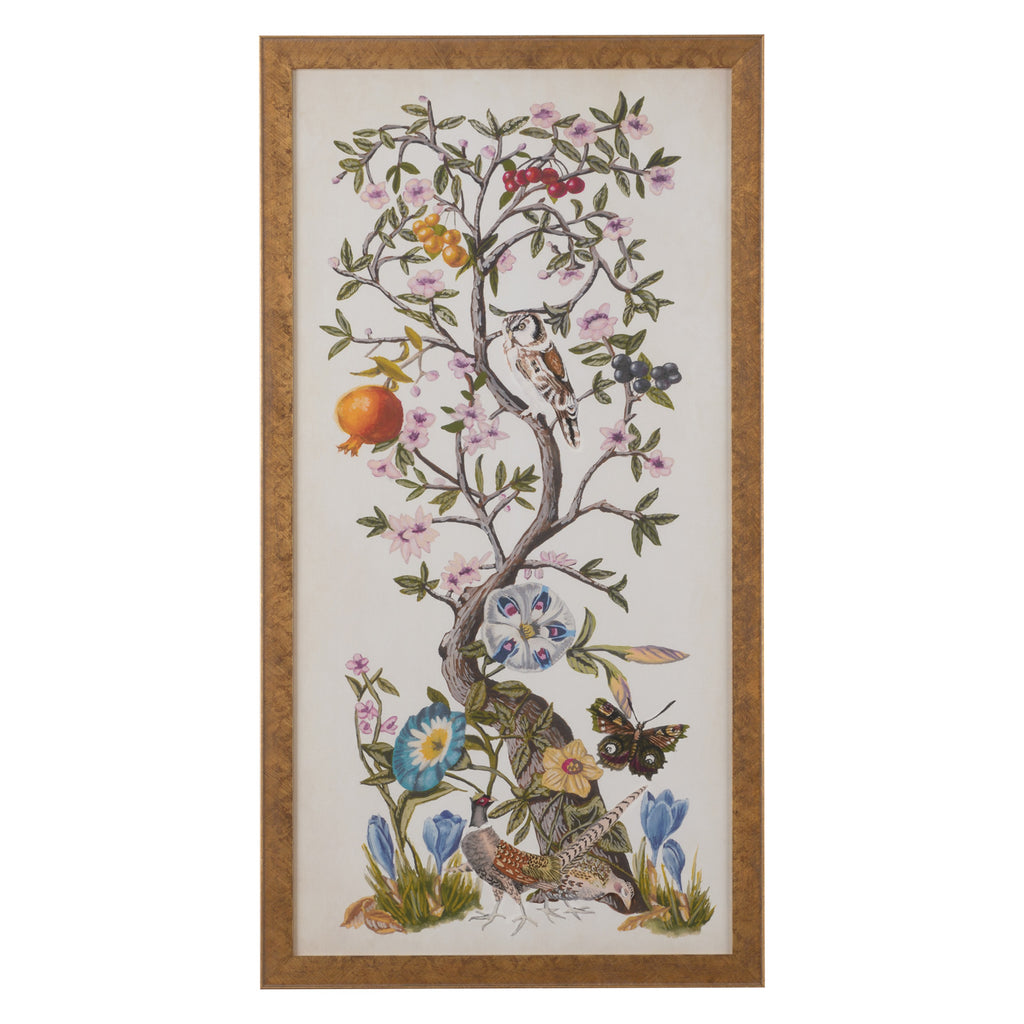 Chelsea House Chinoiserie Natura I Framed Wall Art
