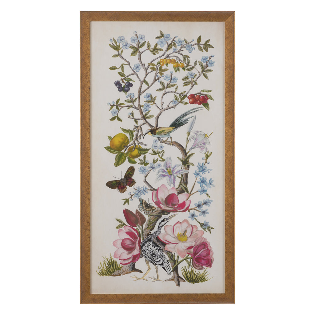 Chelsea House Chinoiserie Natura II Framed Wall Art