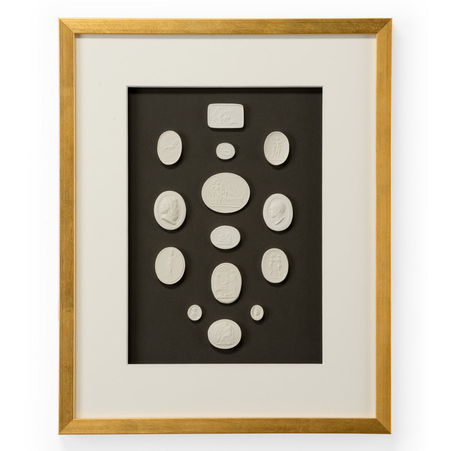 Chelsea House The Grand Tour Intaglios I Framed Wall Art
