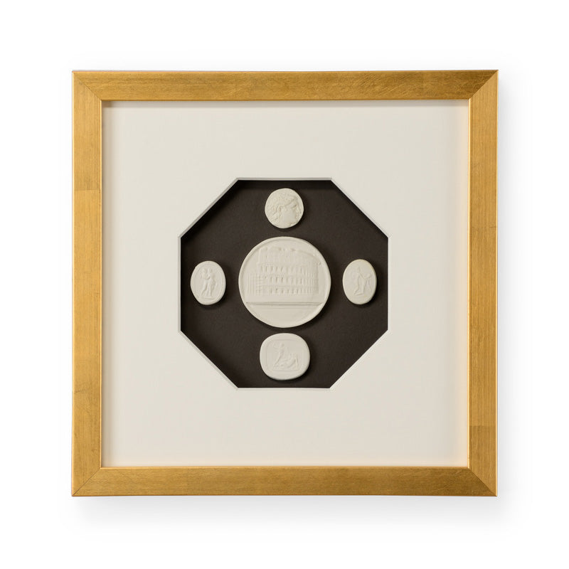 Chelsea House The Grand Tour Intaglios III Framed Wall Art