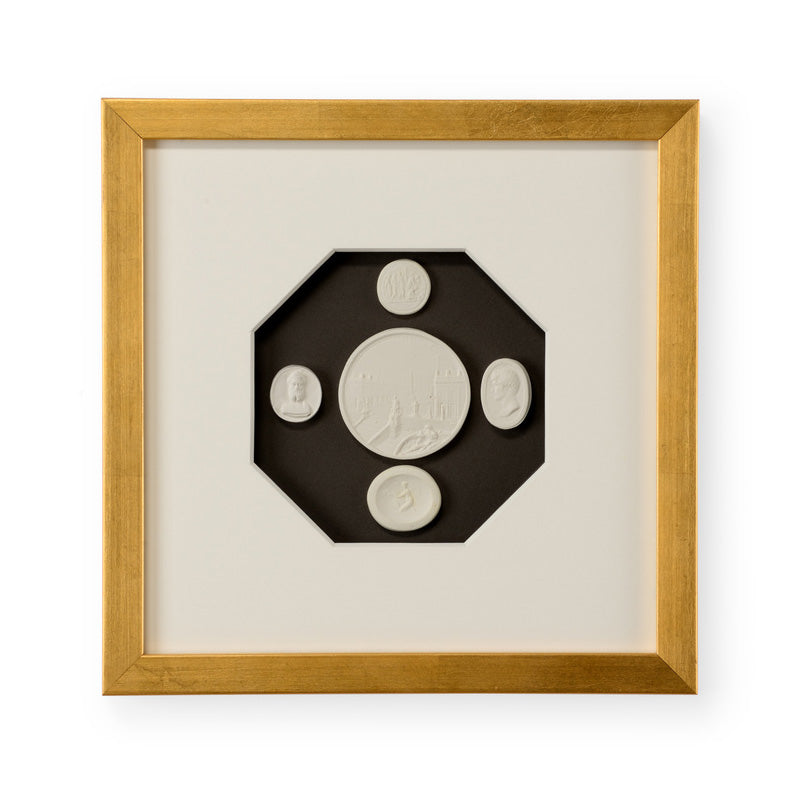 Chelsea House The Grand Tour Intaglios IV Framed Wall Art