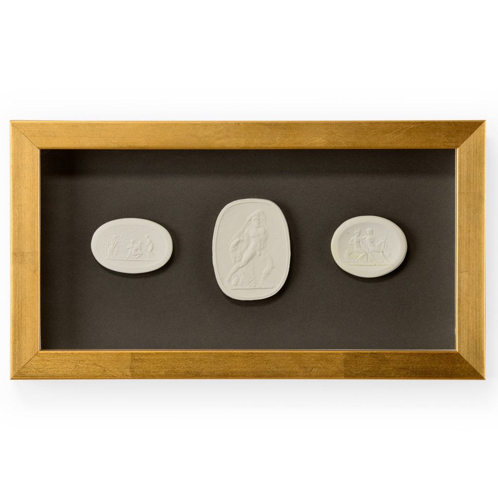 Chelsea House Intaglio I Small Shadowbox