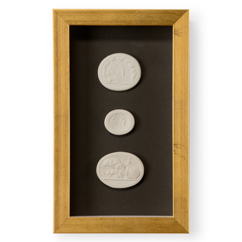 Chelsea House Intaglio III Small Shadowbox