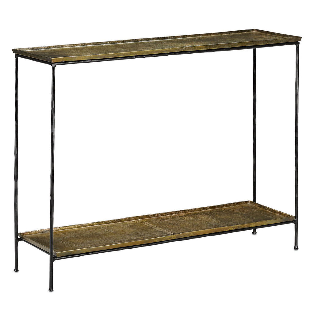 Currey & Co Boyles Console Table